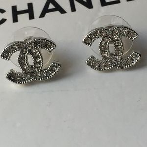 Authentic Chanel Small Stud Earrings